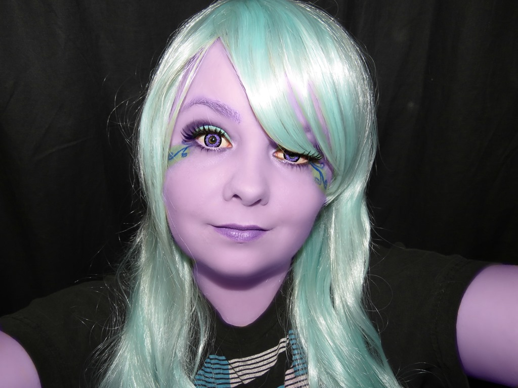 Banshee Purple Contact Lenses