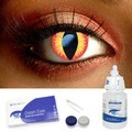 Red Dragon Contact Lenses Complete Set