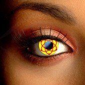 Atomic Contact Lenses