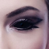 Black Full Eye Sclera Contact Lenses