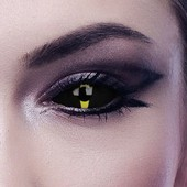 Blacklash Full Eye Sclera Contact Lenses
