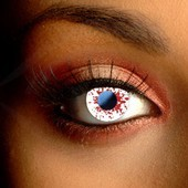 Blood Splat Halloween Contacts