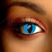 Color Vision Blue Cat Eye Contact Lenses