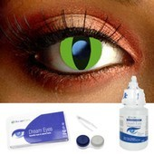 Cobra Eye Contact Lenses Complete Set