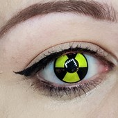 Color Vision Biohazard Contact Lenses