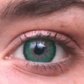Color Vision Green 3 Tone Contact Lenses