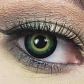 Color Vision Green Twilight Werewolf Contact Lenses