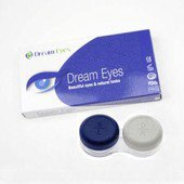 Color Vision Red Mesh Contact Lenses