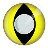 Color Vision Yellow Cat Eye Contacts