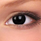 Dolly Black Big Eyes Contact Lenses (Pair)