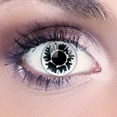 Funky Eyes White Fleck Contact Lenses
