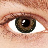 Brown Galaxy Contact Lenses