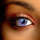 Glimmer Violet Contact Lenses