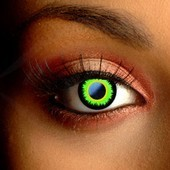 Green Werewolf Halloween Contacts