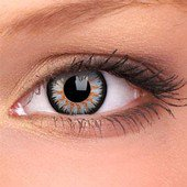 Grey Glamour Contact Lenses (Pair)