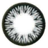 Grey Sparkle Contact Lenses