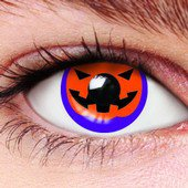 Pumpkin Halloween Contact Lenses