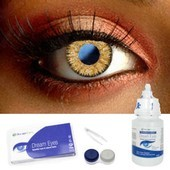 Hazel 3 Tone Color Contact Lens Complete Set