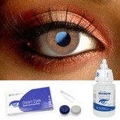 Hazel Glamour Contact Lenses Complete Set