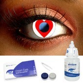 Heart Contact Lenses Complete Set