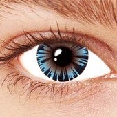 Iced Blue Contact Lenses