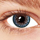Leopard Blue Contact Lenses