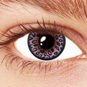 Leopard Violet Contact Lenses