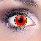 Magic Red Contact Lenses