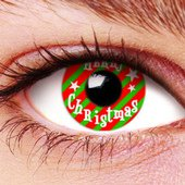 Merry Christmas Contact Lenses