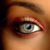 Natural Hazel Color Contact Lenses