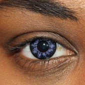 Natural Shine Violet Contact Lenses
