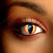 Color Vision Fire Dragon Contact Lenses