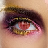 Sci-fi Red Contact Lenses