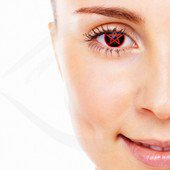 Red Star Contact Lenses