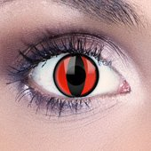 Red Valkyrie Contact Lenses