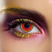 Red Vampire Contact Lenses (Pair)