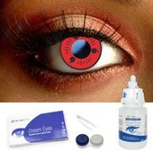 Sasuke Contact Lens Complete Set