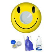 Smiley Face Contact Lens Complete Set