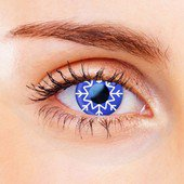 Snowflake Contact Lenses