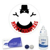 Snowman Festive Contact Lenses Complete Set
