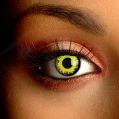 Solar Yellow Contact Lenses