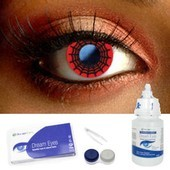 Spider Contact Lenses Complete Set