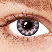 Spin Purple Contact Lenses