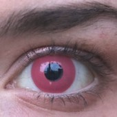 Spooky Pink Colored Contacts