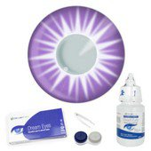 Starburst Contact Lens Complete Set