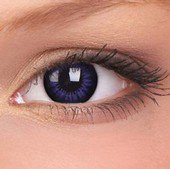 Ultra Violet Big Eyes Contact Lenses (Pair)