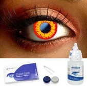 Wild Fire Contact Lens Complete Set