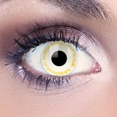 Yellow & White Contact Lenses