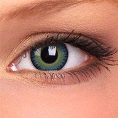 Yellow Blue Fusion Contact Lenses (Pair)