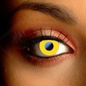 Yellow Cosplay Contacts